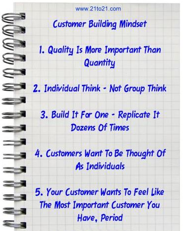 Customer Building The Profit Consultant From www.21to21.com